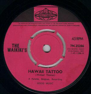 WAIKIKIS - Hawaii Tattoo / Waikiki Welcome