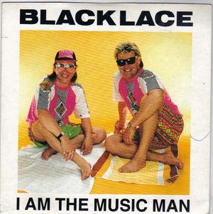 black lacei am the music manflair7quot single vinylrare