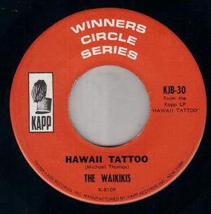 WAIKIKIS - Hawaii Tattoo / Tahiti Tamoure