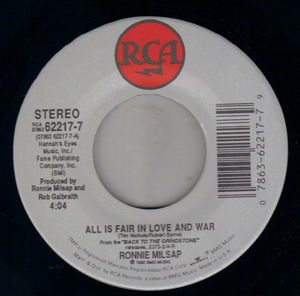 All In Fair In Love And War