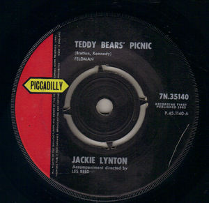 Jackie Lynton Teddy Bears Picnic Piccadilly 7 Quot Single