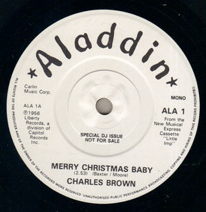 charles brown merry christmas baby i aint drunk promo
