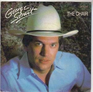 George Strait The Chair Mca 7 Quot Single Vinyl Rare 45 Rpm