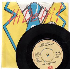 Paul Shane & The Yellowcoats