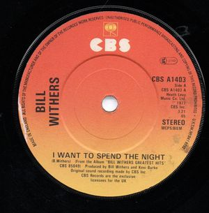 I Want To Spend The Night