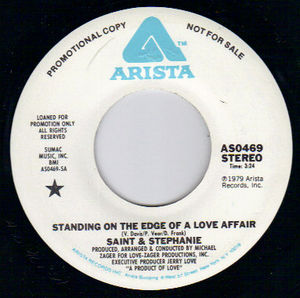 Standing On The Edge Of A Love Affair